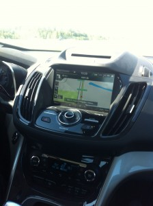 My Ford Touch - with built in nav system